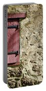 Old Wall And Door Portable Battery Charger