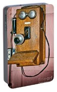 Old Wall Telephone Portable Battery Charger