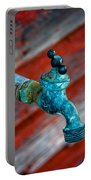 Old Water Valve Portable Battery Charger