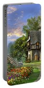 Old Waterway Cottage Portable Battery Charger