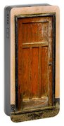 Old Weathered Door Portable Battery Charger