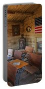 Old West School House Portable Battery Charger