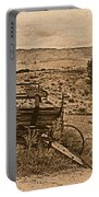 Old West Wagon Portable Battery Charger