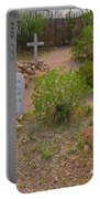Old Western Gravesite Portable Battery Charger