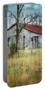 Old Wooden Barn Portable Battery Charger