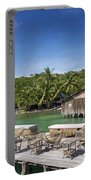 Old Wooden Pier Of Koh Rong Island In Cambodia Portable Battery Charger