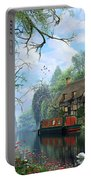 Old Woodland Cottage Portable Battery Charger
