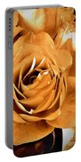 Old World Roses  Portable Battery Charger