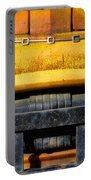 Old Yellow By Diana Sainz Portable Battery Charger