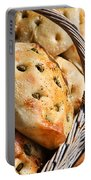 Olive Bread Portable Battery Charger