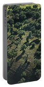 Olive Farmland In Spain Portable Battery Charger