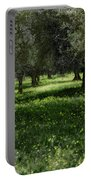Olive Grove Color Italy Portable Battery Charger