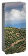 Olive Trees In A Field, Ubeda, Jaen Portable Battery Charger