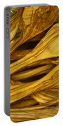 Olive Wood Portable Battery Charger