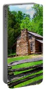 Oliver Cabin 1820s Portable Battery Charger by David Lee Thompson