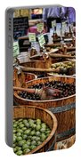 Olives Portable Battery Charger by Heather Applegate