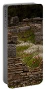 Olympia Ruins And Wild Flowers   #9684 Portable Battery Charger