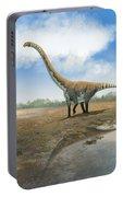 Omeisaurus Tianfuensis, An Euhelopus Portable Battery Charger by Roman Garcia Mora