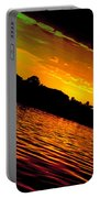 Ominous Sunset Portable Battery Charger