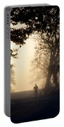On A Morning Jog Portable Battery Charger