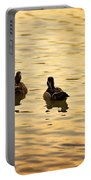 On Golden Pond Ducks Portable Battery Charger
