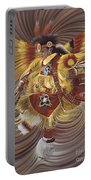 On Sacred Ground Series 4 Portable Battery Charger by Ricardo Chavez-Mendez