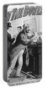 On The Bowery, 1894 Portable Battery Charger