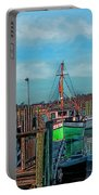 On The Dockside Bristol Rhode Island Portable Battery Charger