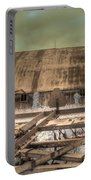 On The Farm Portable Battery Charger by Jane Linders