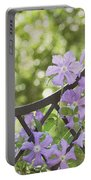 On The Fence Portable Battery Charger by Kim Hojnacki
