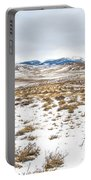 On The Fence Line Portable Battery Charger by Fran Riley