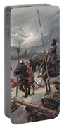 On The Night Of Marignan, Illustration Portable Battery Charger