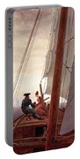 On The Sailing Boat Portable Battery Charger