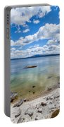 On The Shores Of Yellowstone Lake Portable Battery Charger