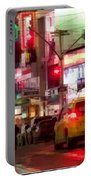 On The Town - Times Square Portable Battery Charger