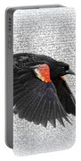 On The Wing - Red-winged Blackbird Portable Battery Charger