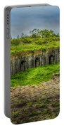 On Top Of Fort Macomb Portable Battery Charger by David Morefield