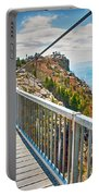 On Top Of Grandfather Mountain Mile High Bridge In Nc Portable Battery Charger