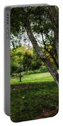 One Autumn Day - Central Park - Nyc Portable Battery Charger