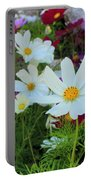 One Flower Stands Out Portable Battery Charger