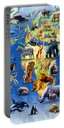 One Hundred Endangered Species Portable Battery Charger