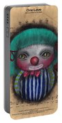 One Love Clown Portable Battery Charger