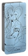 One More Time - Doodle Portable Battery Charger
