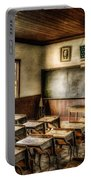 One Room School Portable Battery Charger by Lois Bryan
