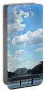 One View Two Memorials Portable Battery Charger