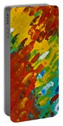 Only Till Eternity 2nd Panel Portable Battery Charger by Sharon Cummings