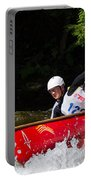 Open Canoe Whitewater Race - Panorama Portable Battery Charger