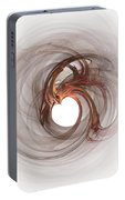 Open To Love Fine Fractalart Portable Battery Charger