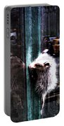 Opossum In The City Portable Battery Charger