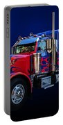 Optimus Prime Blue Portable Battery Charger